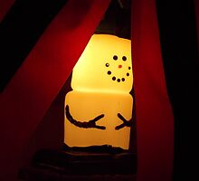 Marshmallow Snowman  by ashleylenda