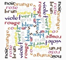 French colour words IV Kids Clothes