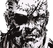 Big Boss - Metal Gear Solid by Leamartes