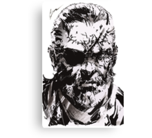 Big Boss - Metal Gear Solid Canvas Print