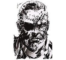 Big Boss - Metal Gear Solid Photographic Print