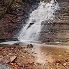 Ohio's Buttermilk Falls by Kenneth Keifer