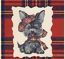 Cute Vintage Scottish Terrier Dog by TippyToes