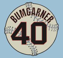 Madison Bumgarner Baseball Design Kids Clothes