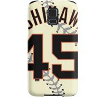 Travis Ishikawa Baseball Design Samsung Galaxy Case/Skin