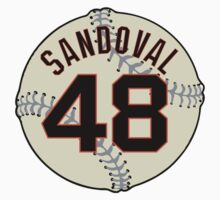 Pablo (Panda) Sandoval Baseball Design by canossagraphics