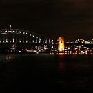 Sydney Harbour Bridge At Night by Evita