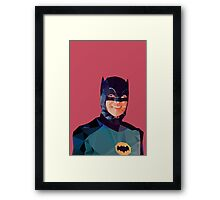 Campy smile Framed Print