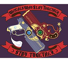 Slay Together, Stay Together - Bayonetta & Jeanne Photographic Print