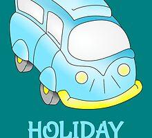 Camper Van \ Holiday Mode by piedaydesigns