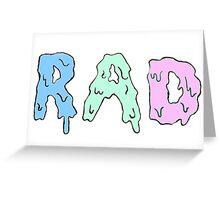 r a d  Greeting Card