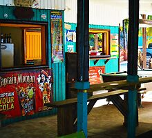 Coki Beach Shacks by ChelcieSPorter