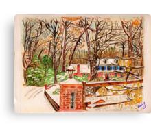Joseph's House Canvas Print