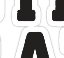 Gym Rat - Fitness Shirt, Crossfit Top, Workout Clothes, Fitspo Sticker