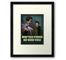 Use the Force, Doctor Jedi (Realistic) Framed Print