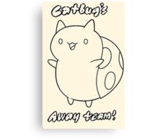 Bravest Warriors ~ Catbug's Away Team Canvas Print