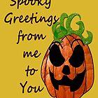 Spooky Pumpkin  by Jandzart013