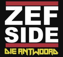 Die Antwoord Zef Side by DeBourbon