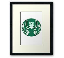 Belcher's Coffee Framed Print