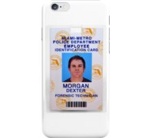 Morgan, Dexter iPhone Case/Skin