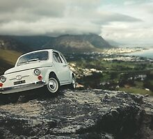 FIAT all over Town : On top of the world by inLitestudio