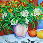 Citrus Still Life by marlene veronique holdsworth