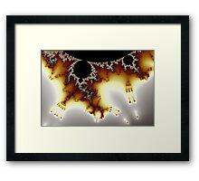 Tricorn Mandelbrot Byways No. 8 Framed Print