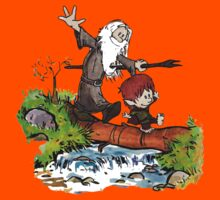 Gandalf and Bilbo Calvin and Hobbes Kids Clothes