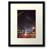 Light Show, Sydney, Australia 2004 Framed Print