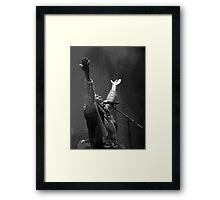 The wonderful Jimmy Cliff 12 (n&b)(h) by expressive photos ! Olao-Olavia by Okaio Créations  Framed Print