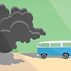 Dharma Van vs Smoke Monster by Simon Alenius