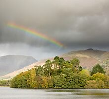 Ribbon Rainbow Above Grasmere II by Chris Tarling