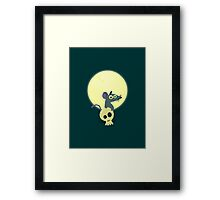 Moon Rat Framed Print