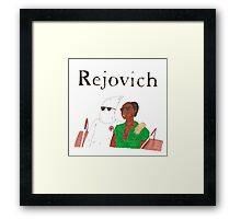 Rejjie Snow - Rejovich Framed Print