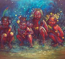 Children of the Gaia Tribe by Annelie Solis