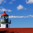 Alki Point Lighthouse by Sue Morgan
