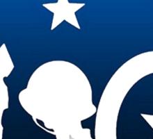 the patriot Sticker