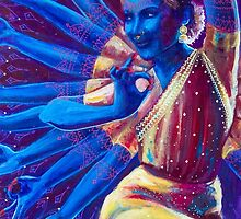 Goddess Nataraj by Annelie Solis