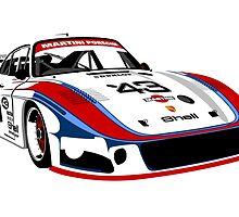 Porsche 935 Group 5 Moby Dick by car2oonz