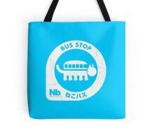 Neko Bus Stop Tote Bag
