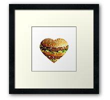 BigMac Luvvin' Framed Print