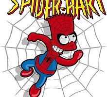 Spiderbart: Bart Simpson as Spider-man by logoloco