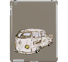 vw bulli t1 DOKA no.2 iPad Case/Skin