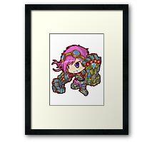 Cute Vi - League of Legends Framed Print
