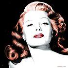 Rita Hayworth Large Size Portrait by Gabriel T Toro