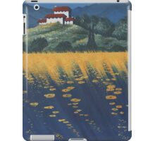Tuscany In Blue iPad Case/Skin