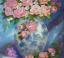 She Wanted Pink Roses by Sue Cervenka