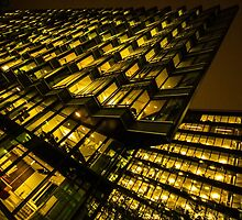 Nightscape - Grid Building by ncp-photography