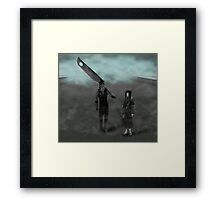 First enemies of Naruto Framed Print