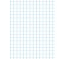 Graph Paper Photographic Print